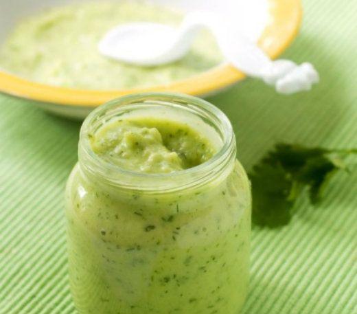 детское питание 5. Пюре из яиц, овощей и риса