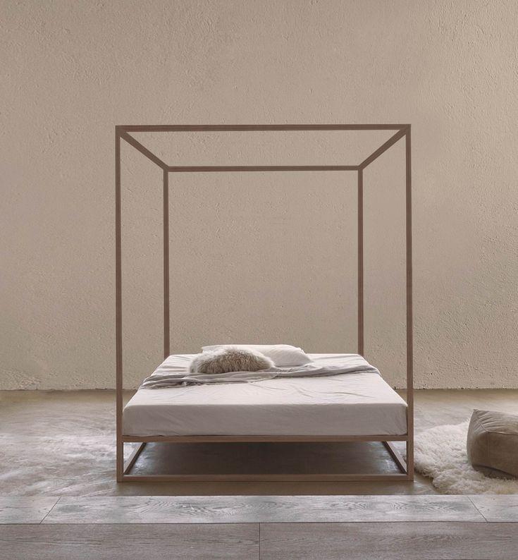 Oltre 25 fantastiche idee su tende per la camera da letto - Letto a baldacchino bambina ...