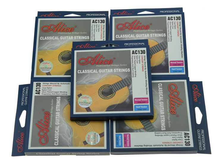 5 Sets Alice Clear Nylon Classical Guitar String Normal Tension Silver Plated Copper Wound Strings #Affiliate