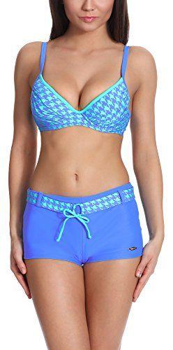 #Verano #Damen #Bikini #Set #Push #Up #Benita #(Dunkelblau/Minze, #40) Verano Damen Bikini Set Push Up Benita (Dunkelblau/Minze, 40), , Zweiteiliger Badeanzug
