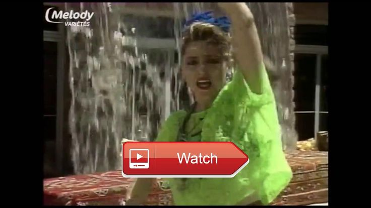 Madonna Holiday Marrakech TV France 1  Description