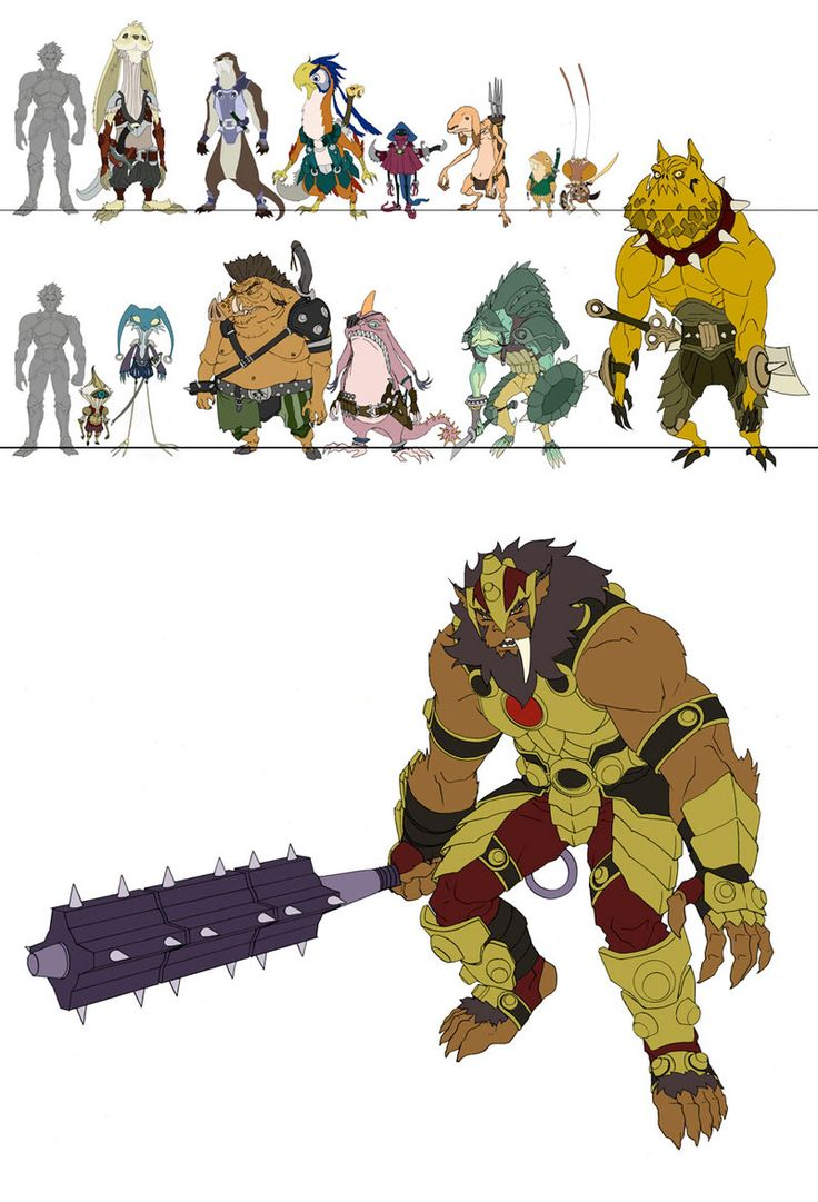 Personagens de Thundercats, por Dan Norton | THECAB - The Concept Art Blog