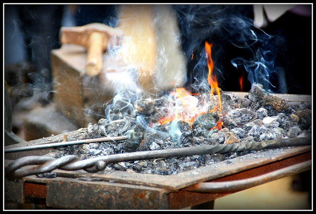 Foc latent by gdelarco, via Flickr  Fira Modernista 2011 #Terrassa #fire                                                                                                                                                           Foc latent             ..