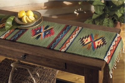 Rustic Home Décor With Southwestern Table Runners
