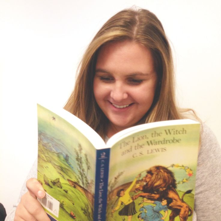 Beth is thankful for The Lion, the Witch and the Wardrobe by C.S. Lewis because it gave her a mystical place to escape to! Fun fact: It was the first book report she ever wrote. #ThankYouKidsLit