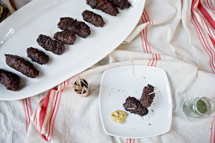 This Mititei recipe using half ground venison is pretty dang close to the real thing, minus the plane ticket to Bucharest!