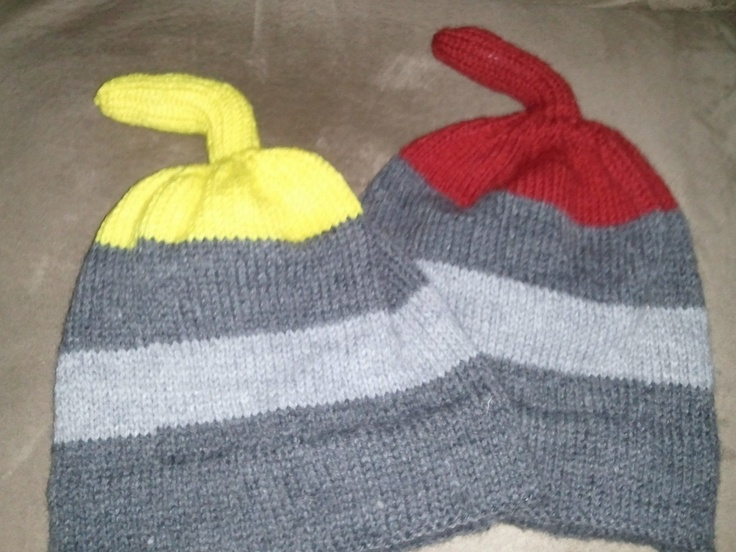 Another pinner wrote: I just completed 4 of these hats for a coworkers curling team.