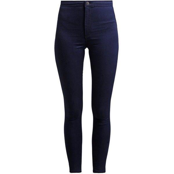 dark-blue denim ❤ liked on Polyvore featuring jeans, pants, bottoms, calças, pantalon, slim fit jeans, slim jeans, slim cut jeans, deep blue jeans and dark blue jeans