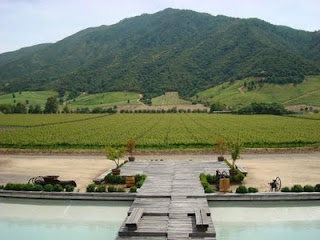 Vina Montes Winery in Colchagua Valley, Chile
