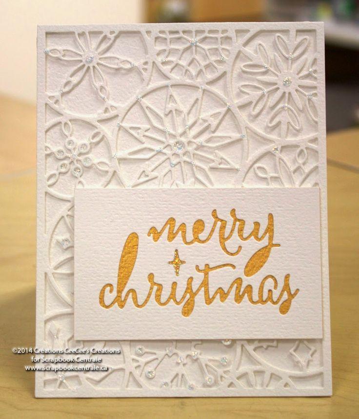 Scrapbook Centrale: Jour 11 * Douze jours de Noël / Day 11 * Twelve Days of Christmas