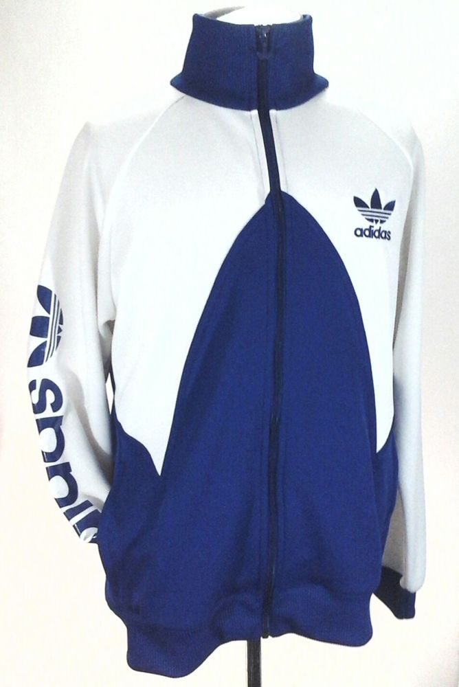 eBay #Sponsored ADIDAS Track Jacket Large Trefoil Zip Up