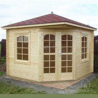 Drewniany domek pięciokątny (Garden pavilion) Victoria B 7,3 m2