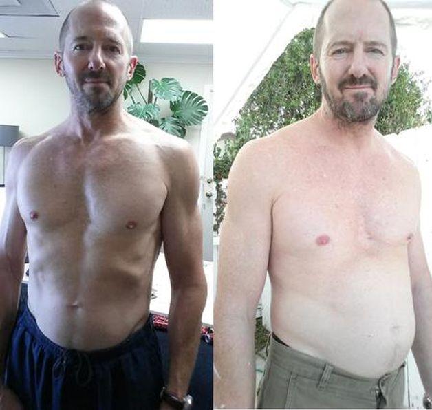 Antes e depois da experiência