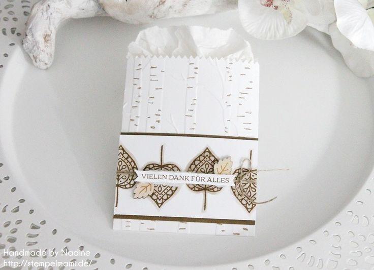 Stampin Up - Mini Leckereientüte - Mini Treat Bag - Goodie - Gift Bag - Herbst - Autumn ☆ Stempelmami
