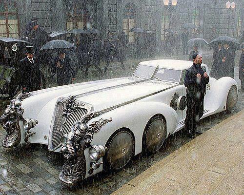 Captain Nemo's car .. League of extraordinary gentlemen