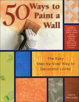 Painting Techniques    I don't necessarily want the peach color but I like the technique of this design for my walls of my new home. :)