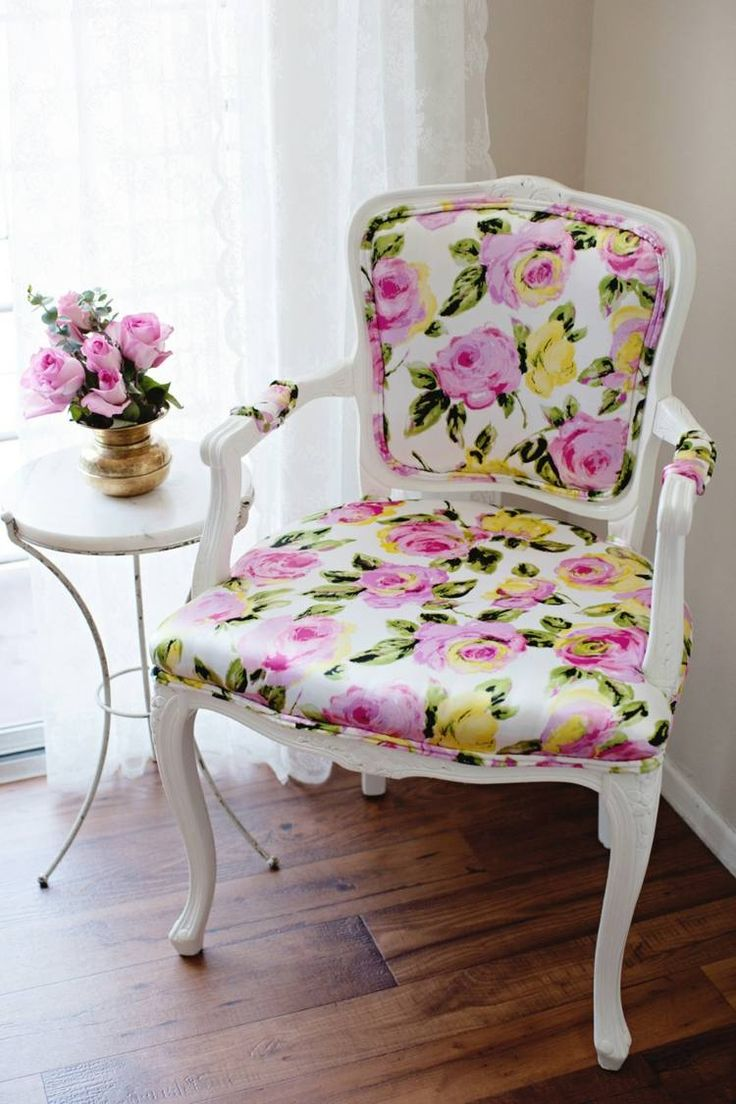White floral bergere. http://www.facebook.com/kenisa.home