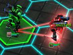 Enter the futuristic Sci-Fi world of Robomom 3D! This 3D unity game sends you to space where you lead a party of robots against enemy droids from space, or where you will overpower the turn-based tactics of your best friends by playing a 2 player strategy game. The team whose robots stand last on ground