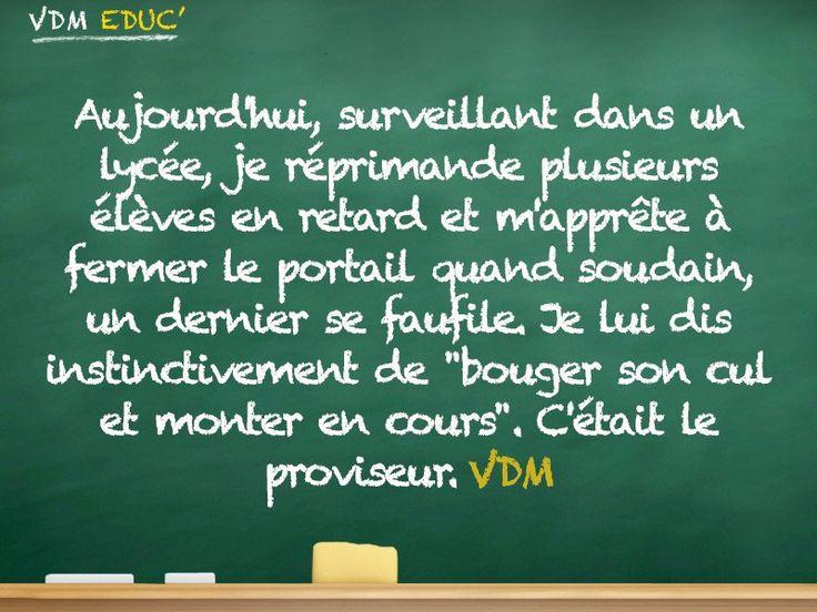 Avez vous aussi du mal à rester calme devant votre proviseur? #fail #viedeprof #vdm #vdmeduc