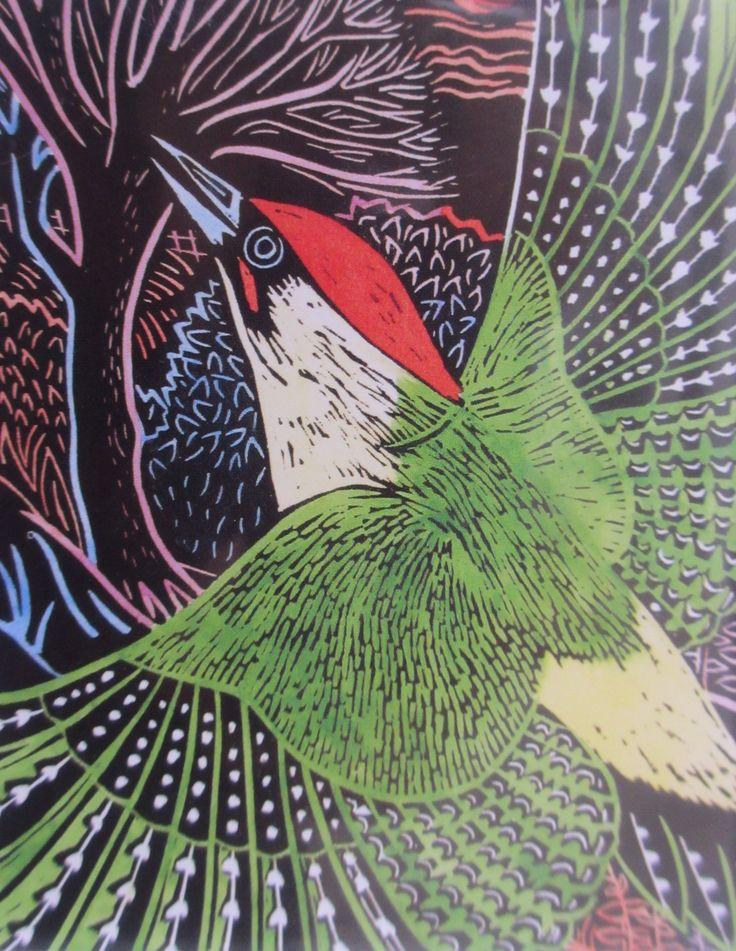 Annie Soudain - Woodpecker