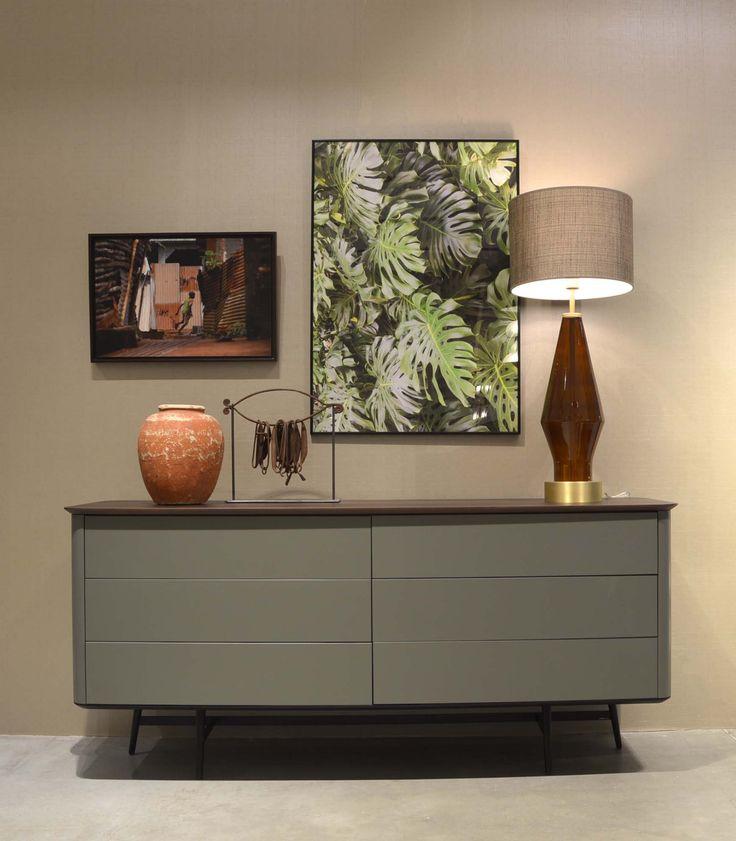 Roche Bobois | Octet dresser and Vincennes lamp