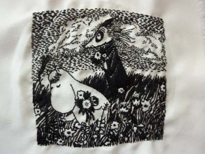 Embroidery Project: Tove Jansson I came across. Alice D Newman