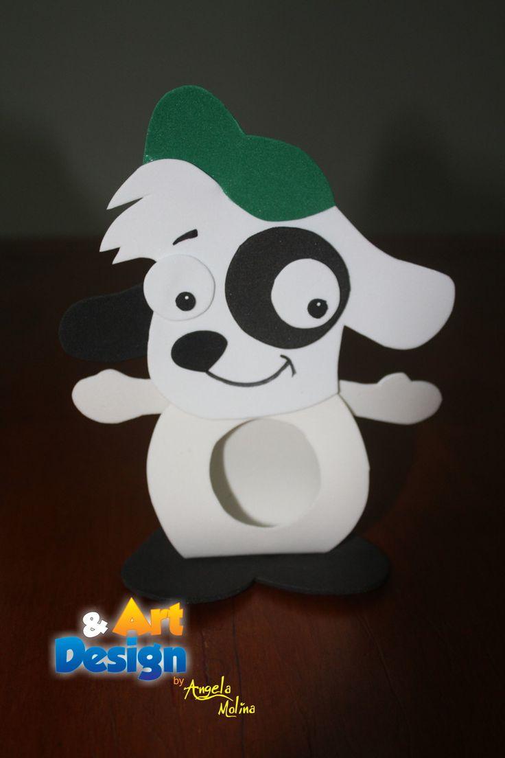 Porta bombom feito em EVA do personagem DOKI. Ideal para lembrança ou enfeitar sua mesa de aniversário. Fazemos qualquer tema!