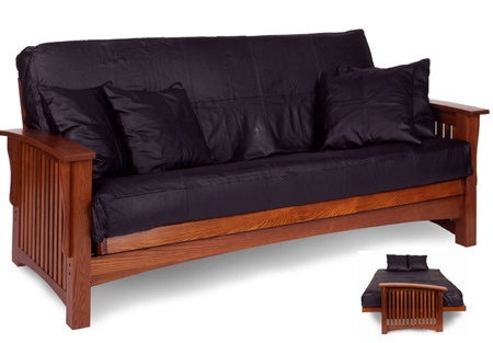 Craftsman Oak Futon