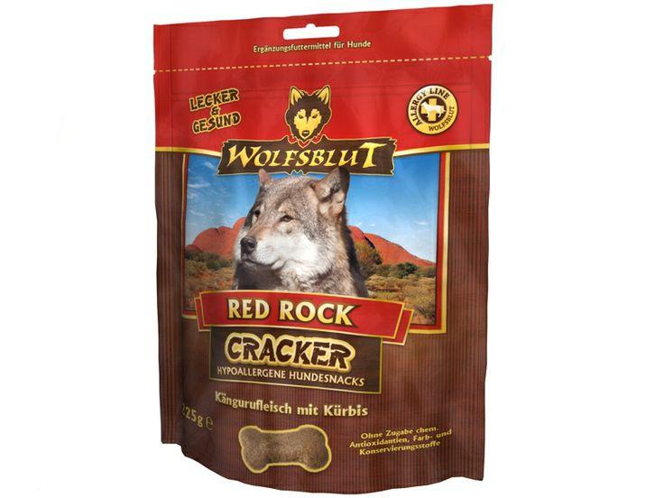 Wolfsblut Red Rock Cracker Hundekekse aus Kängurufleisch mit Kürbis & Süßkartoffel