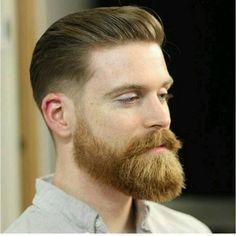 Além de se livra do incômodo de fazer a barba e te poupar um troco a mais, a barba modela de várias maneiras o seu rosto corrigindo imperfeiçoes, marcas do rosto, e dando até um novo formato. #BarbasEEstilos#beard#modamasculina#modahomem#homem#homemmoder