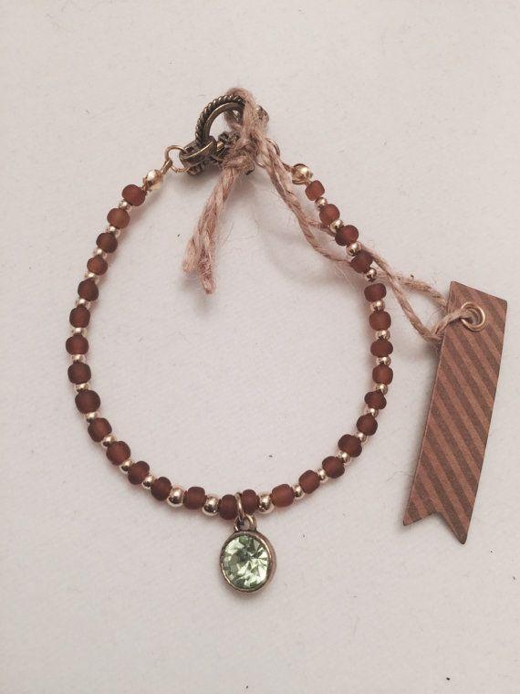 Charm Bracelet Peridot Beauty by MJCustomDesignCanada on Etsy