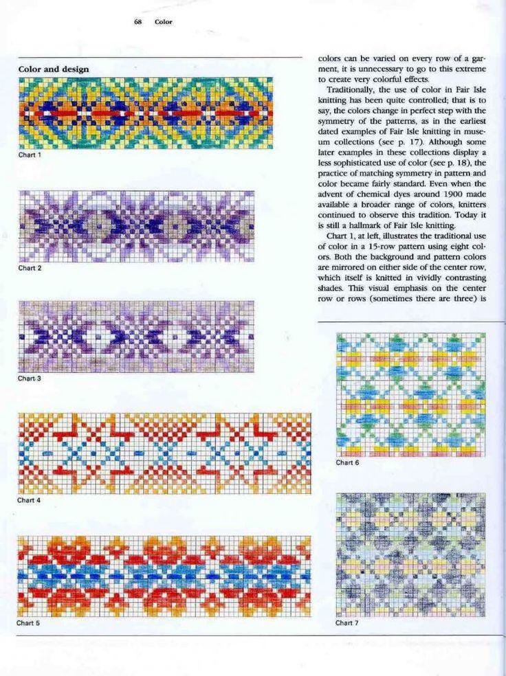 222 best Bunte Strickmuster images on Pinterest   Knit crochet ...