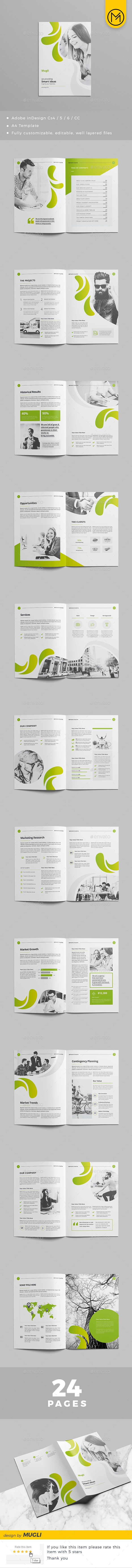 Brochure Design 2018 #corporate #a4 • Download ➝ https://graphicriver.net/item/brochure-design-2018/21355396?ref=pxcr