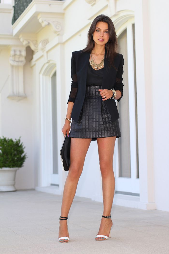 999 best Leather Skirts I images on Pinterest