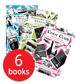 Swallows and Amazons Collection - 6 Books: Arthur Ransome Book  Collection. Book People
