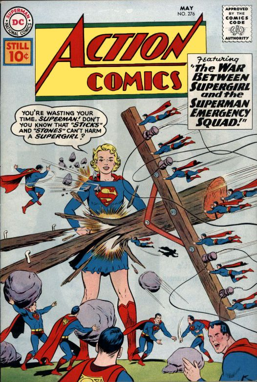 Superman Comic Book Cover Art ~ Best supergirl comic book covers images on pinterest