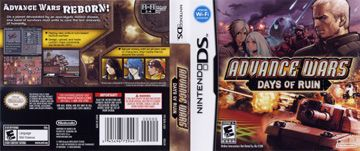 Advance Wars: Days of Ruin (DS) - The Cover Project