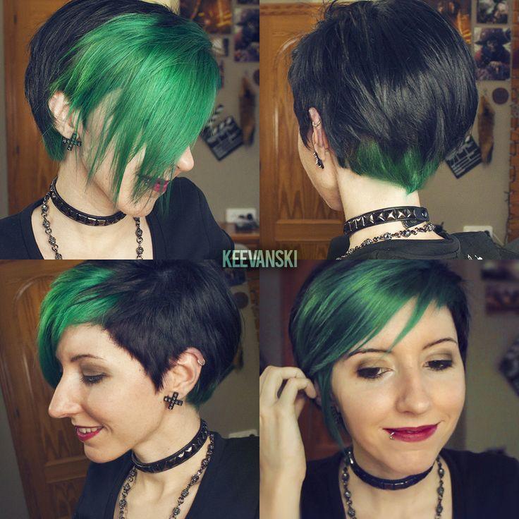Alpine Green · La Riche Directions · Hair Tutorial by Keevanski