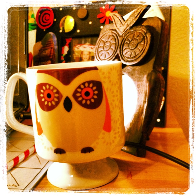 qwl coffe cup LOVE!Teas Cups, Coffe Cups, Coffee Cups, Owls Cups