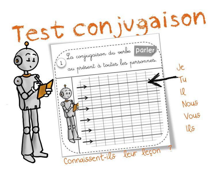 Tests leçons de conjugaison