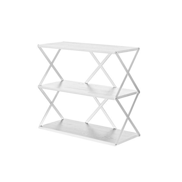 Lift 3 shelf, white