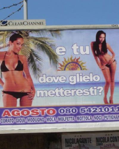 pubblicità trash - Cerca con Google
