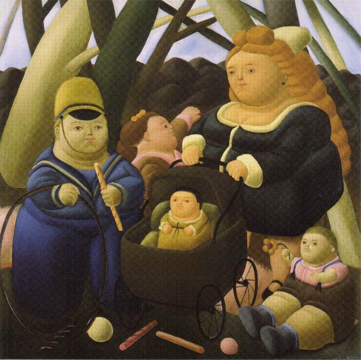 Fernando Botero - Children Fortunes