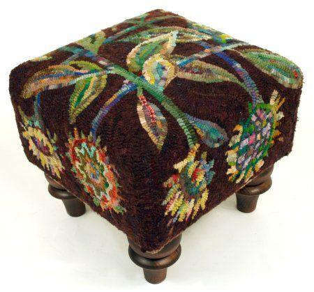 hooked footstool
