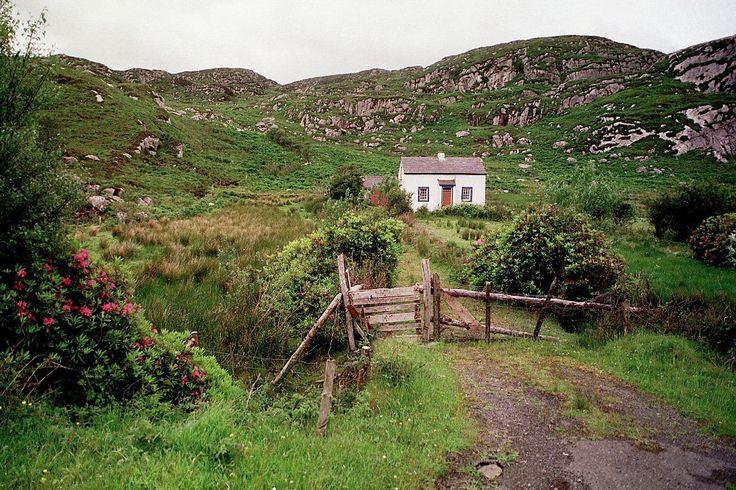 "pagewoman: "" Irish Cottage  by Sarah Corbin """