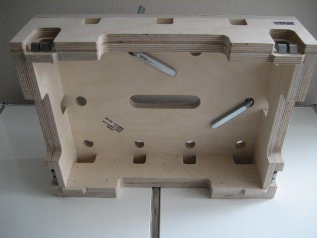 Fabrication du mini établi Systainer