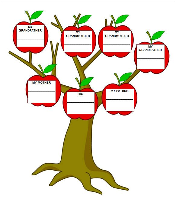Family Tree Template - 29+ Download Free Documents in PDF