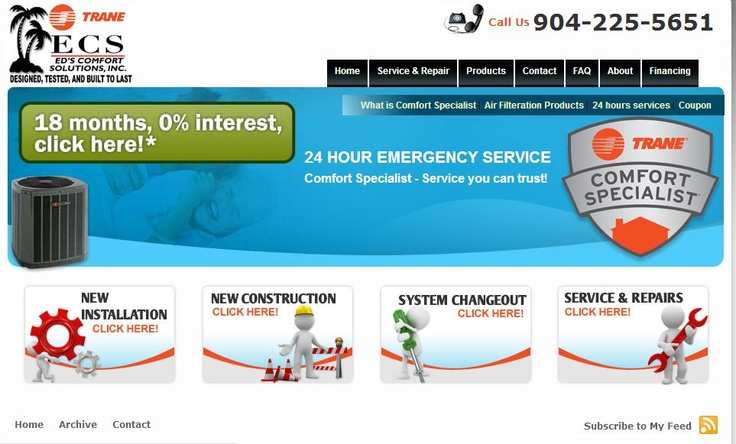 Ed's Comfort Solutions (ECS) is a superior heating and air
