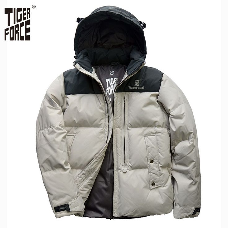Find More Down Jackets Information about TIGER FORCE Hot Sale 2016 Men White Duck Down Jacket Winter Jacket Men Fashion Casual Down Coat With Hood Free Shipping  D 022D,High Quality travel freezer,China jacket red Suppliers, Cheap jacket basketball from TIGER FORCE on Aliexpress.com