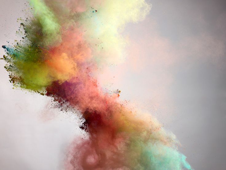 explosión color